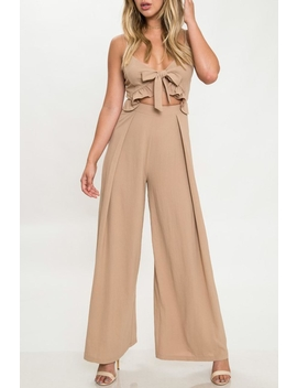 Ruffle Wide Leg Jumpsuit by Mod&Soul, Virginia