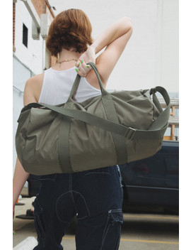 Olive Green Duffle Bag by Brandy Melville
