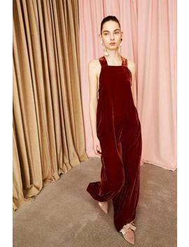 Ulla Johnson Victoire Gown   Garnet by Garmentory