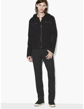 Hooded Jean Jacket by John Varvatos