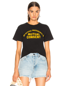 For Fwrd Mutual Consent Crop Tee by Local Authority