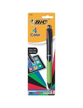 Bic 4 Color™ Stylus Pens, Green/Black by Bic
