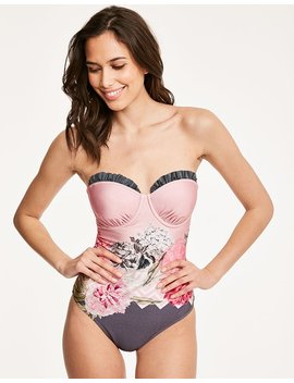 Palace Gardens Frill Cup Swimsuit by Ted Baker