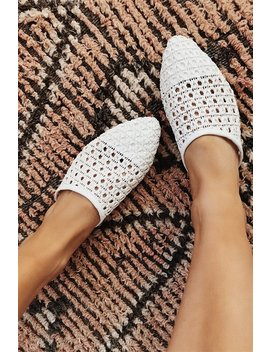 Woven Loafers   White by Sabo Skirt