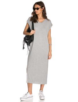 שמלת מקסי בריקר גזרת אוברסייז by Adika