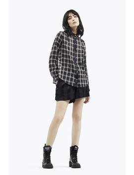 Plaid Button Up Shirt by Marc Jacobs