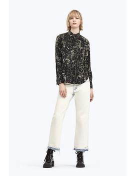 City Lights Printed Blouse by Marc Jacobs