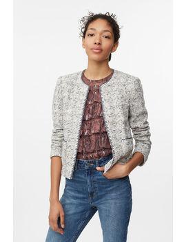 Speckled Tweed Jacket by Rebecca Taylor