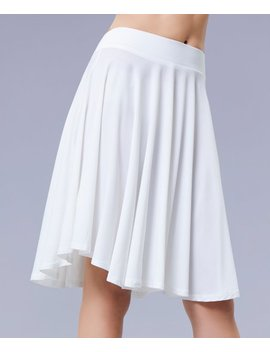 White A Line Skirt   Women &Amp; Plus by Beyond This Plane