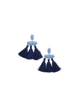 Blue Tassel Earrings by Vineyard Vines