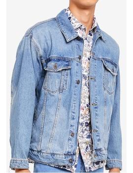 Nblue Emilio Oversize Denim Jacket by Topman