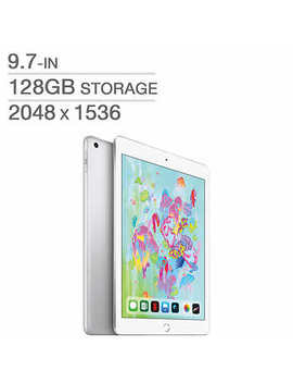 Apple I Pad, A10 Chip, Wi Fi, 128 Gb, Silver by Costco