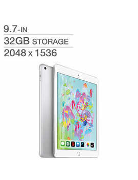 Apple I Pad, A10 Chip, Wi Fi, 32 Gb, Silver by Costco