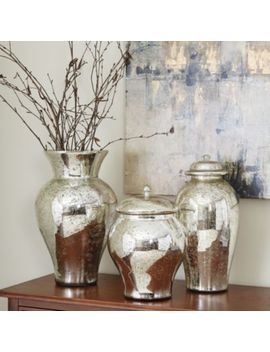 Mercury Glass Vases by Ballard Designs