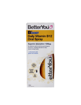 Better You Pure Energy B12 Boost Oral Spray 25ml by Better You Pure Energy B12 Boost Oral Spray 25ml