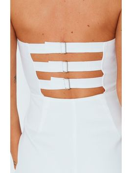 Dare To Be Jumpsuit White by White Fox