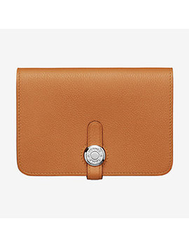 Dogon Compact Wallet by Hermès