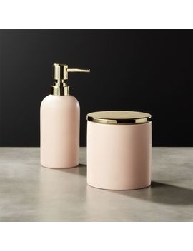 Pink Bath Accessories by Crate&Barrel