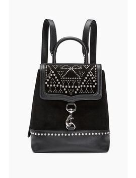 Bree Convertible Backpack With Studs by Rebecca Minkoff