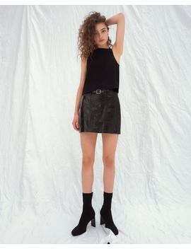Toni Leather Skirt by Rag & Bone