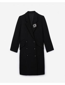 Black Crossover Coat Black Crossover Coat by The Kooples