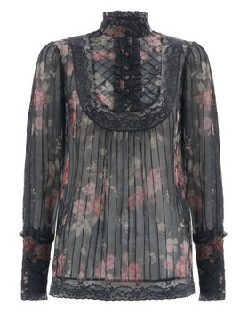 Unbridled Tucked Blouse by Zimmermann