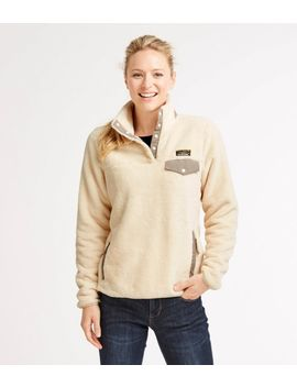Women's L.L.Bean Hi Pile Fleece Pullover by L.L.Bean
