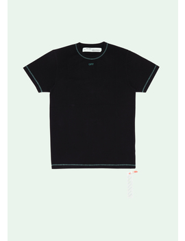 """""""The Double Off"""" Black T Shirt by Off White"""