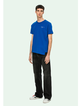 Blue Life Itself S/S T Shirt by Off White