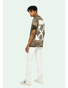 Camouflage S/S T Shirt by Off White
