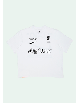 White Exclusive Logo T Shirt by Off White