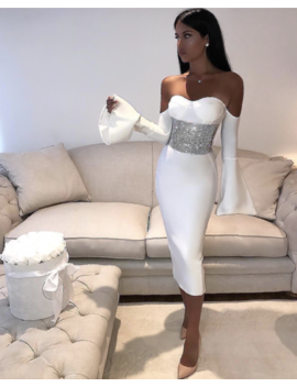 Misty Dress   White by Want My Look