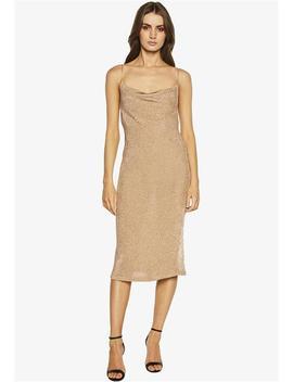 Dani Lurex Knit Dress by Bardot