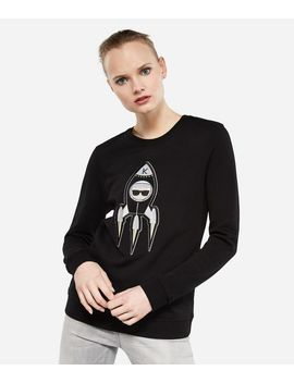 Karl Space Sweatshirt by Karl Legerfeld