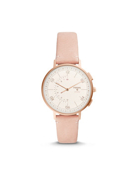 Hybrid Smartwatch   Q Harper Blush Leather by Fossil