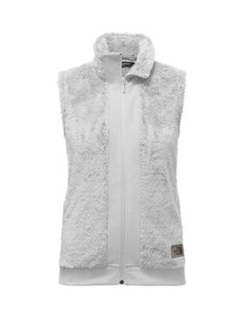 Women's Furry Fleece Vest by The North Face