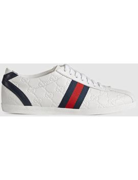 Ace Embroidered Sneaker by Gucci