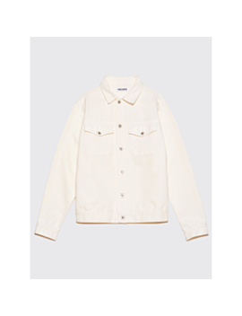 Très Bien Jean Jacket Cotton Twill Snow White by Très Bien