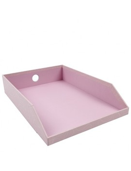 Contour A4 Pink In Tray by Paperchase