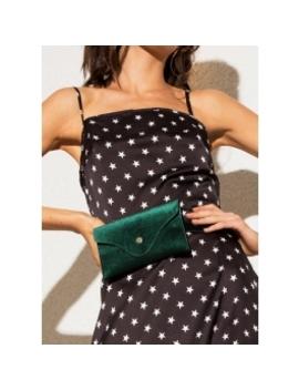 Velvet Belt Bag   Emerald by Peppermayo