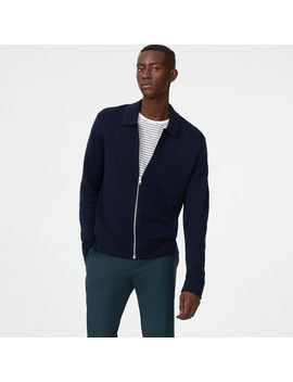 Milano Full Zip Merino Jacket by Club Monaco