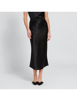 Satin Midi Skirt by Seed Heritage