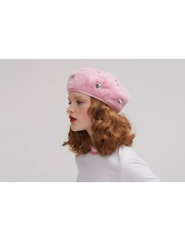 Lazy Oaf Gems Beret by Lazy Oaf