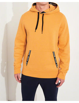 Hoodie Mit Logoband by Hollister