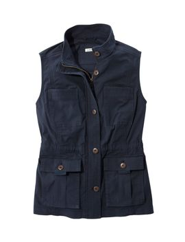Ripstop Field Vest by L.L.Bean