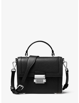 Jayne Small Pebbled Leather Trunk Bag by