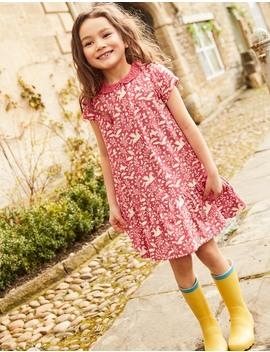Short Sleeved Jersey Dress by Boden