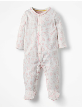 Pretty Printed Sleepsuit by Boden