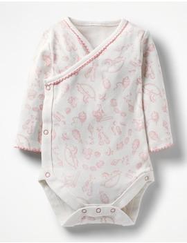 Pretty Wrap Bodysuit by Boden