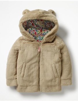 Cosy Teddy Hoodie by Boden